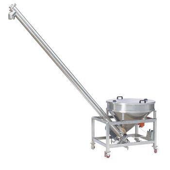 云南倾斜式螺旋提升机加工定制土方装车绞龙