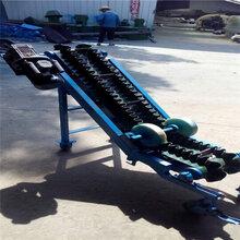 滨州防滑式饲料锯末装车传送机电动升降机场行李装卸车输送机图片
