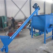 山东沙子螺旋提升机干粉螺旋上料机价格X7图片