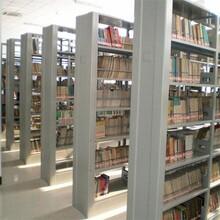 汉中双面书架拆装木护板书架图片