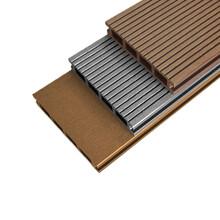 方孔14025塑木地板空心木塑地板图片