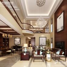 重庆东源湖山樾别墅—别墅装修设计—中式风格
