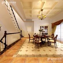 重庆北麓官邸别墅—别墅装修设计—美式风格