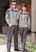呼伦贝尔厂家批量定制防静电服T恤衫春秋和夏季工作服