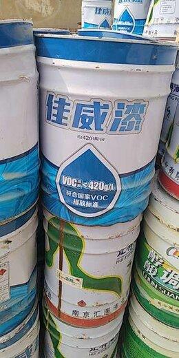 太原回收工程涂料公司
