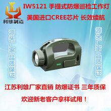 IW5121手提式防爆巡检工作灯可手摇充电便携式探照灯广角调节强光手提式手电筒