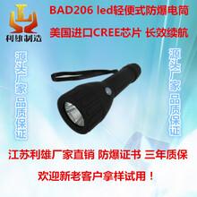 BAD206led轻便式防爆电筒强光防爆防水防摔手电筒便携式可充电工作灯