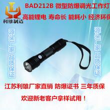 BAD212B微型防爆调光工作灯led强光防水防摔电筒可充电便携式手电筒