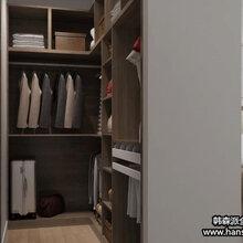 广州进口实木板材定制家具、美国红橡实木定制衣柜橱柜、书房书柜电脑桌组合
