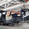 时产百吨可移动颚式轧石机LYJ79