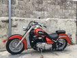 13年哈雷款铃木VL400大肥仔街车跑车男士跨骑摩托整车图片