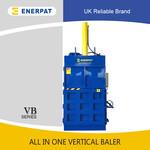 VB-40立式废旧纸箱打包机,自动翻包,效率高