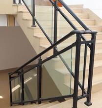 華禹護欄玻璃鋅鋼樓梯護欄樓梯欄桿扶手廠家價格直銷圖片