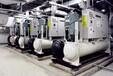 諸暨回收廢舊中央空調冷水熱泵空調機組專業拆卸回收