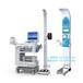 智能健康體檢一體機-身高體重血壓體溫脂肪體檢一體機