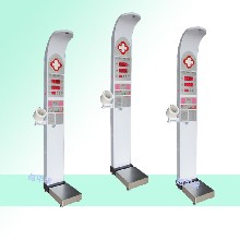 超聲波體檢機廠家-樂佳全自動超聲波體檢機健康一體機圖片