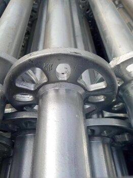 河南焦作盤扣式腳手架Q335B鋼管,友發鋼管有鋼印,追溯有源頭