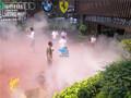 重庆南岸农家乐喷雾设备,锦胜科技优质选择人造雾图片