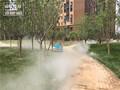 重庆锦胜人造雾公司-售楼部喷雾景观-优质雾化效果图片