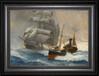 弘鼎藝術裝飾畫帆船油畫裝飾畫一帆風順