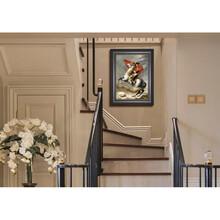 弘鼎艺术微喷装饰画拿破仑油画,装饰画