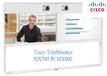 CiscoTelePresenceMX700配備擁有55英寸的雙屏雙攝像頭的視頻會議終端