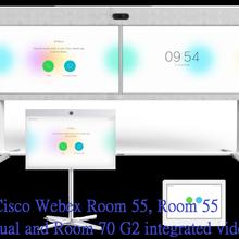 中小型会议场景推荐思科Room55单双屏智能一体式终端
