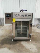 供应30型内置不锈钢四川腊肠腊肉烟熏炉厂家直销