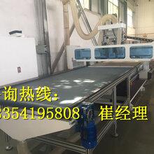 济南定制橱柜数控开料机生产线的生产速度|板式衣柜开料机精度如何