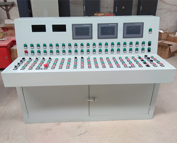 高端电气工作台豪华琴式斜面自动化操作台