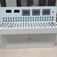 高端电气工作台豪华琴式斜面自动化操作台图片