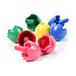 德国Lubek蜡笔12色蛋壳套装进口创意玩具儿童无毒绘画工具朗晟婴童玩具批发
