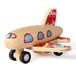 香港Richelieu至远专利原木梦想飞机环保趣味儿童玩具礼物迷你号