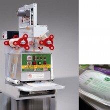 食品封口机手动餐盒封口机盒装食品封口机CCP-FK400桌上型盒装杯装封口机