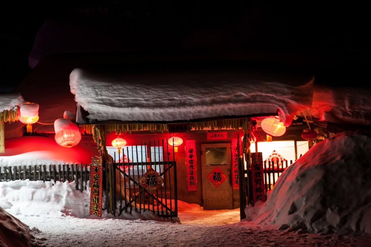 大型室外游乐设施中国雪乡实景1:1还原大型娱乐活动项目投资
