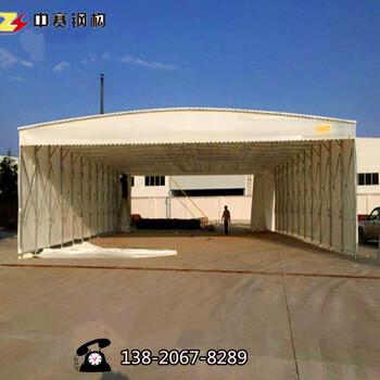 北京大型伸缩帐篷大排档烧烤遮阳雨棚材质加厚加粗