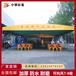 北京房山伸縮雨棚夜宵燒烤蓬大型移動倉庫收縮推拉蓬戶外大棚懸空電動帳篷