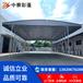 北京大興大型倉儲雨篷收縮篷房頂雙軌道架空電動推拉篷遮陽活動折疊物流卸貨伸縮
