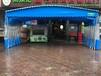 成都崇州大排档餐馆蓬活动帐篷家用折叠蓬