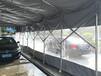 巫溪移动雨蓬户外折叠遮雨棚大型移动推拉雨棚