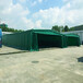 哈爾濱推拉雨棚活動伸縮式帳篷大型移動推拉雨棚