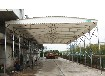 杭州戶外大型伸縮式棚收縮雨棚
