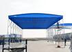 醴陵戶外大型伸縮式棚收縮雨棚