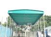 東營戶外大型伸縮式棚收縮雨棚