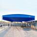 閘北戶外大型伸縮式棚收縮雨棚