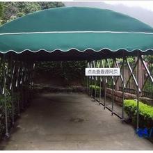 可收缩防雨棚防晒防雨帐篷移动篮球棚图片