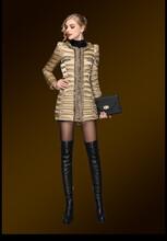 清仓女装韩版小香风羽绒服中长款加厚修身显瘦羽绒外套女潮
