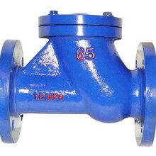 河北欧特莱阀门专业制造球型污水止回阀10余年保质保量量大优惠