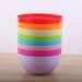 厂家直销日式圆形色拉碗pp大容量塑料碗水果蔬菜搅拌碗