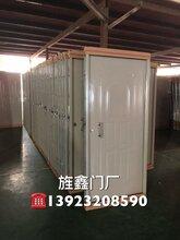 广东旌鑫门厂低价铁门出口便宜钢质门160元/套图片